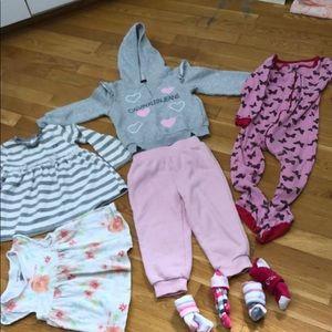 6 pieces of baby clothes for one price